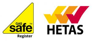 Gas Safe HETAS Registered